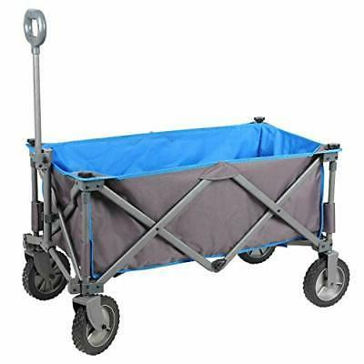 collapsible folding utility wagon quad compact outdoor