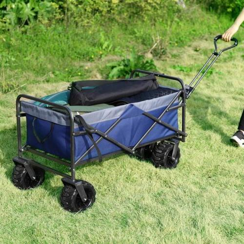 Collapsible Wagon Beach Camp Cart Buggy