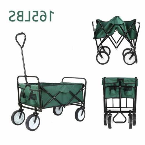 collapsible folding wagon beach camp garden outdoor