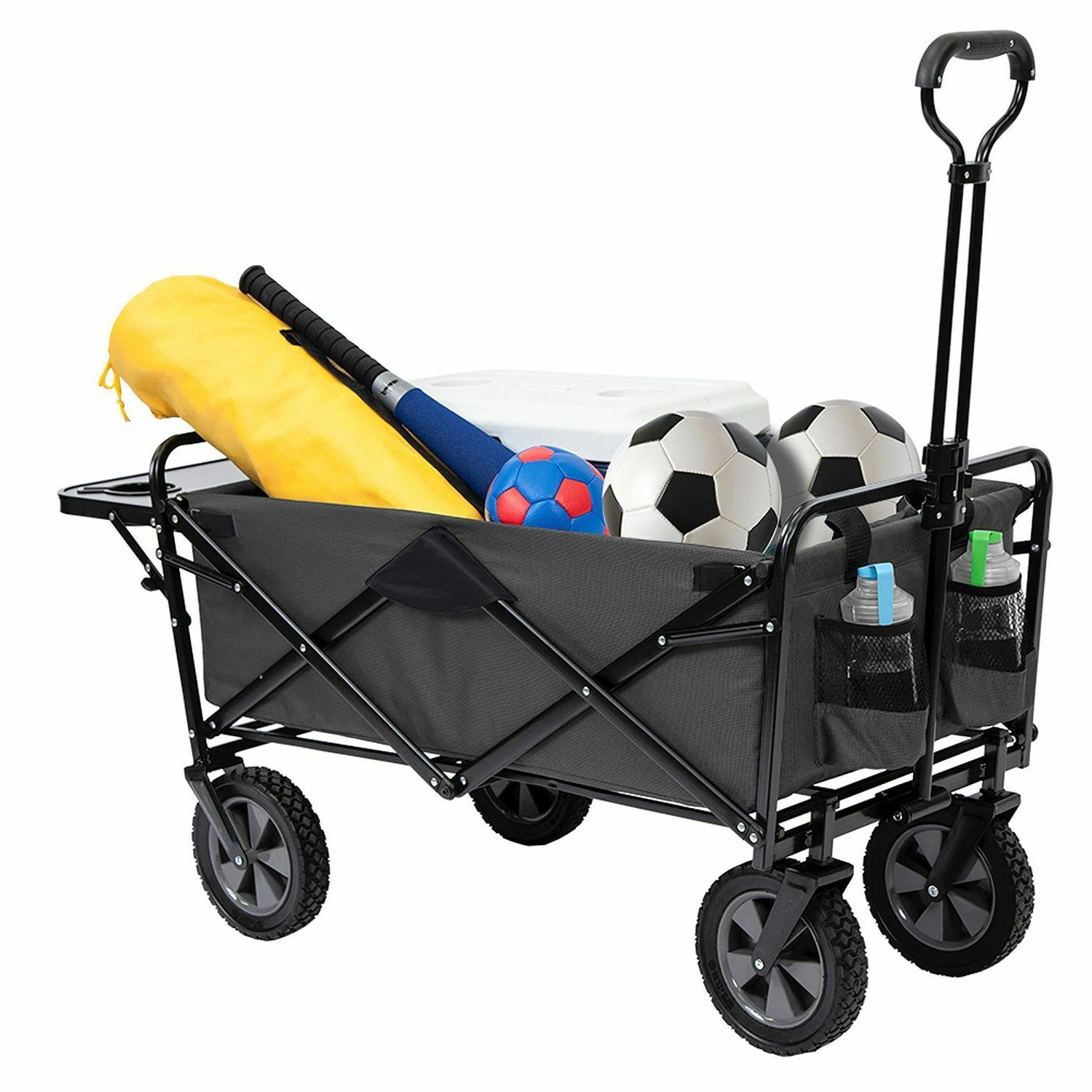 Collapsible Folding Wagon Cart Camping Beach Frame assorted
