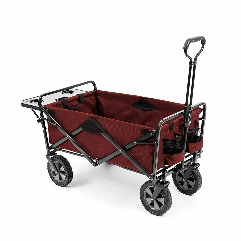 collapsible folding wagon cart camping beach garden