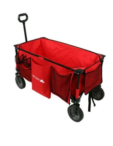 Collapsible Folding Wagon Outdoor Utility Camping