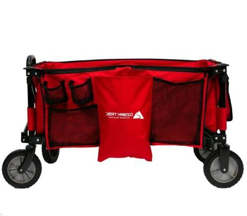 collapsible folding wagon cart outdoor utility all