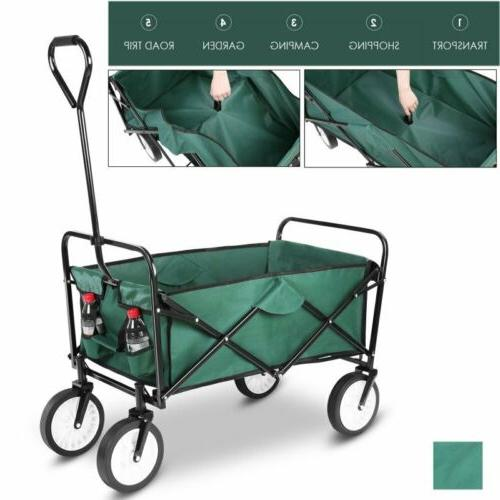 Collapsible Wagon Cart Outdoor Utility Shopping