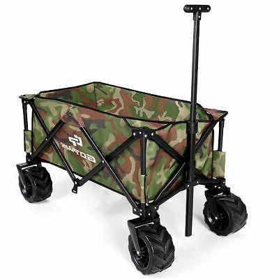 Outdoor Travel Folding Wagon Cart Buggy Durable