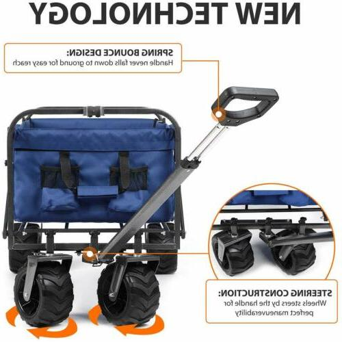 Collapsible Utility Garden Toy Buggy Camp Sports
