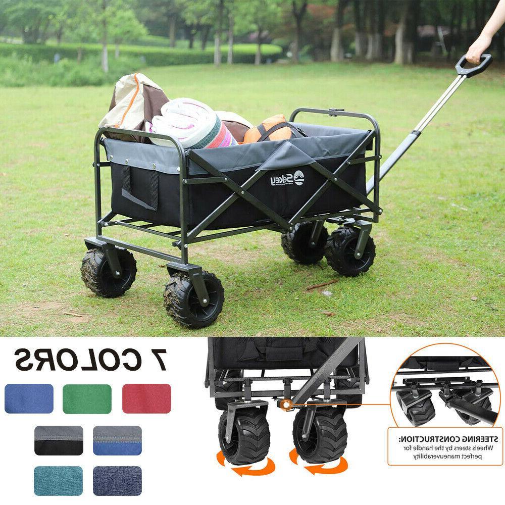 collapsible folding wagon cart utility garden toy