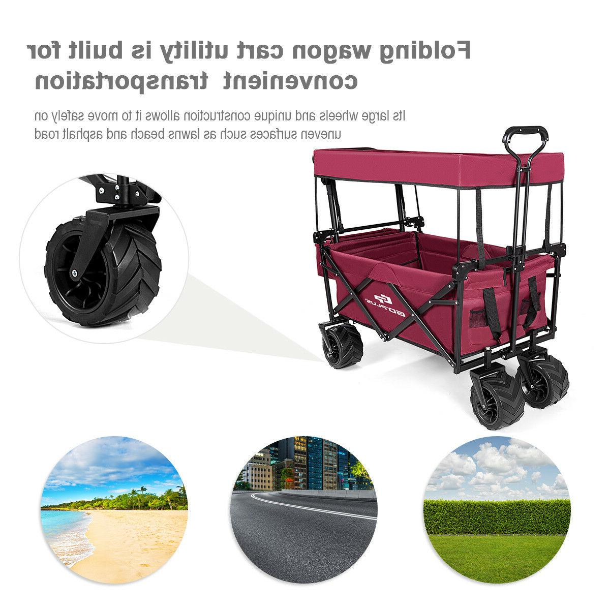 Collapsible Folding W/ Garden Trolley