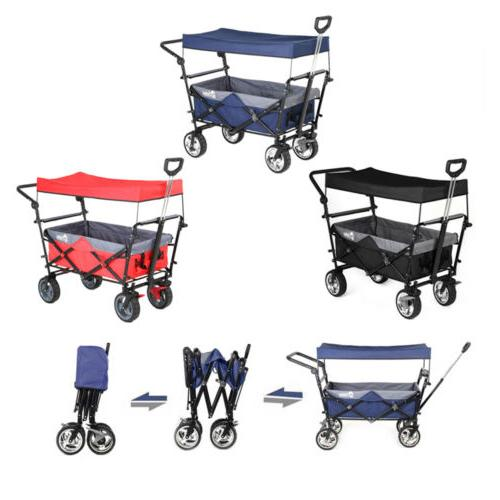 Collapsible Folding Wagon Beach Sport