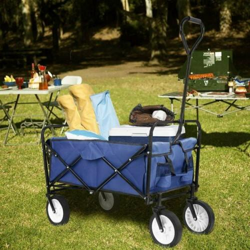 Collapsible Folding Wagon Cart Cart Sports