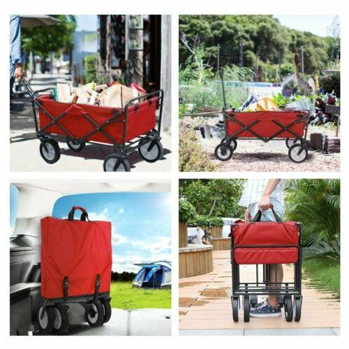 Wagon Utility Outdoor Garden Trolley