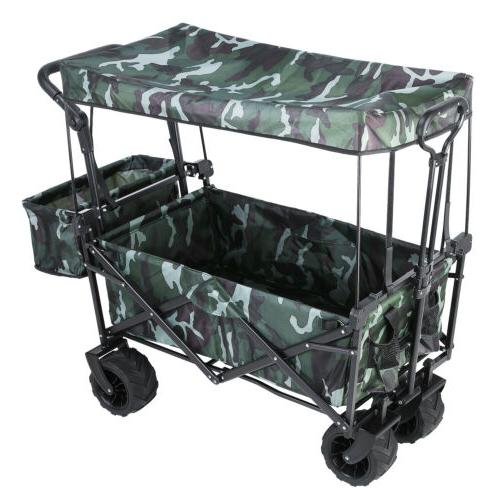 collapsible outdoor utility wagon all terrain folding