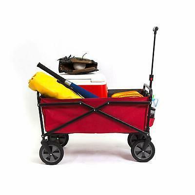 Seina Collapsible Steel Folding Utility Garden Cart,
