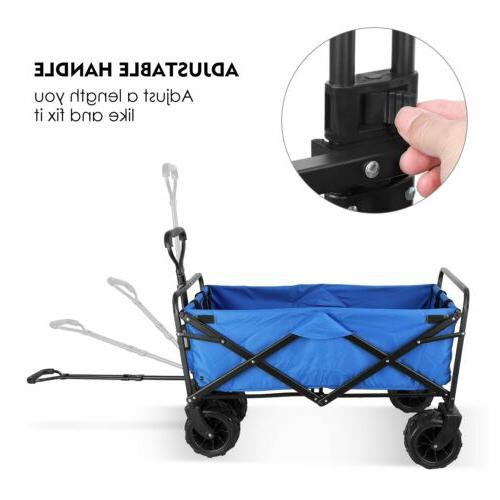 All Terrain Collapsible Wagon Pull Cart