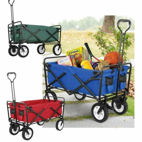 Collapsible Wagon Cart Durable Tool Trolley