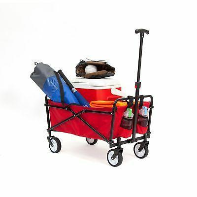 compact folding utility cart