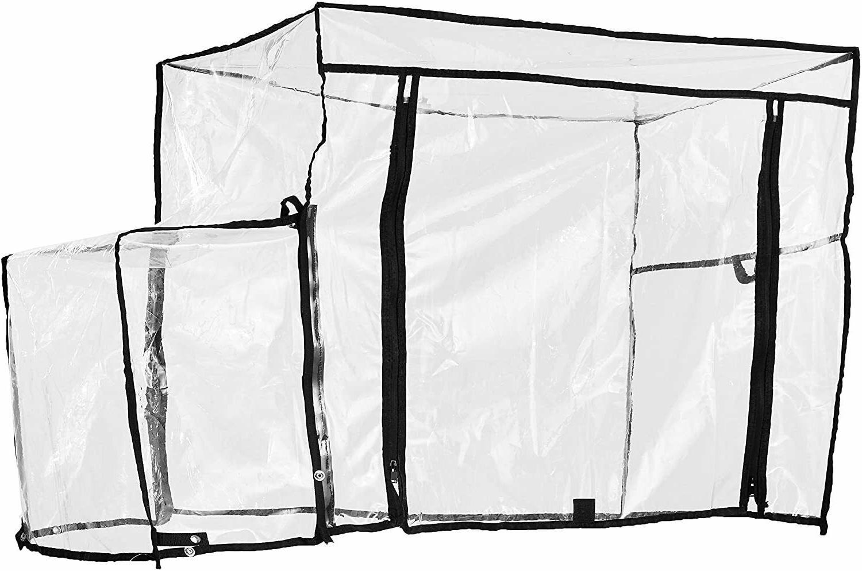 creative outdoor folding wagon rain cover accessory