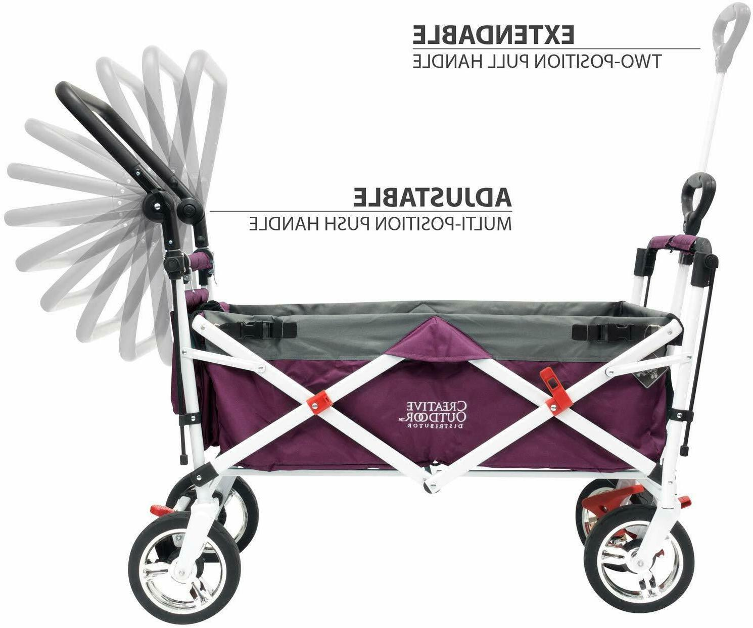 Creative Outdoor Folding Collapsible Wagon