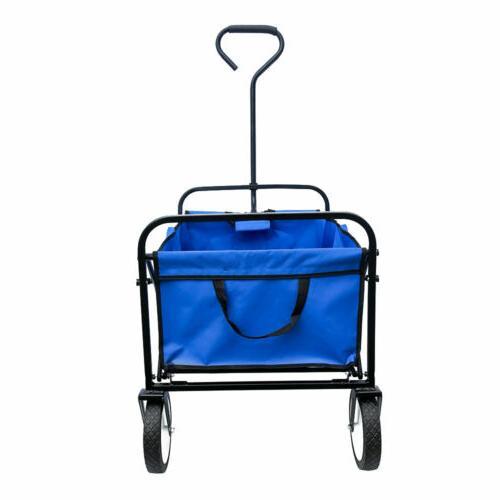 Deluxe Cart Large Shopping Wagon Garden