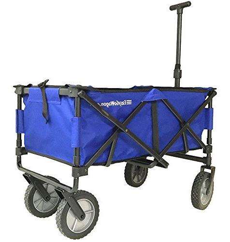 EasyGoWagon - Folding Wagon Heavy Pull Wagon Trunk of Standard Car