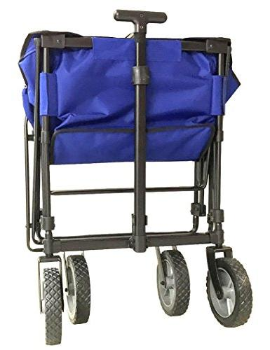 EasyGoWagon 2.0 - Blue Folding - Heavy Wagon - Trunk of Standard