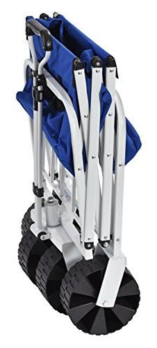 "Muscle Carts FBW3621-Bluecollapsible Folding Utility Wagon, Camo, 21"" Height, 36"""