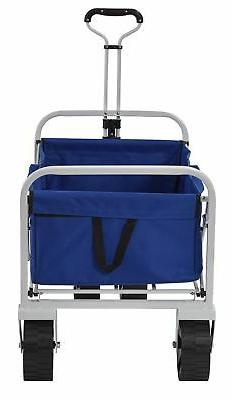 Muscle Carts FBW3621-BLUE FBW3621-Bluecollapsible Folding Ut
