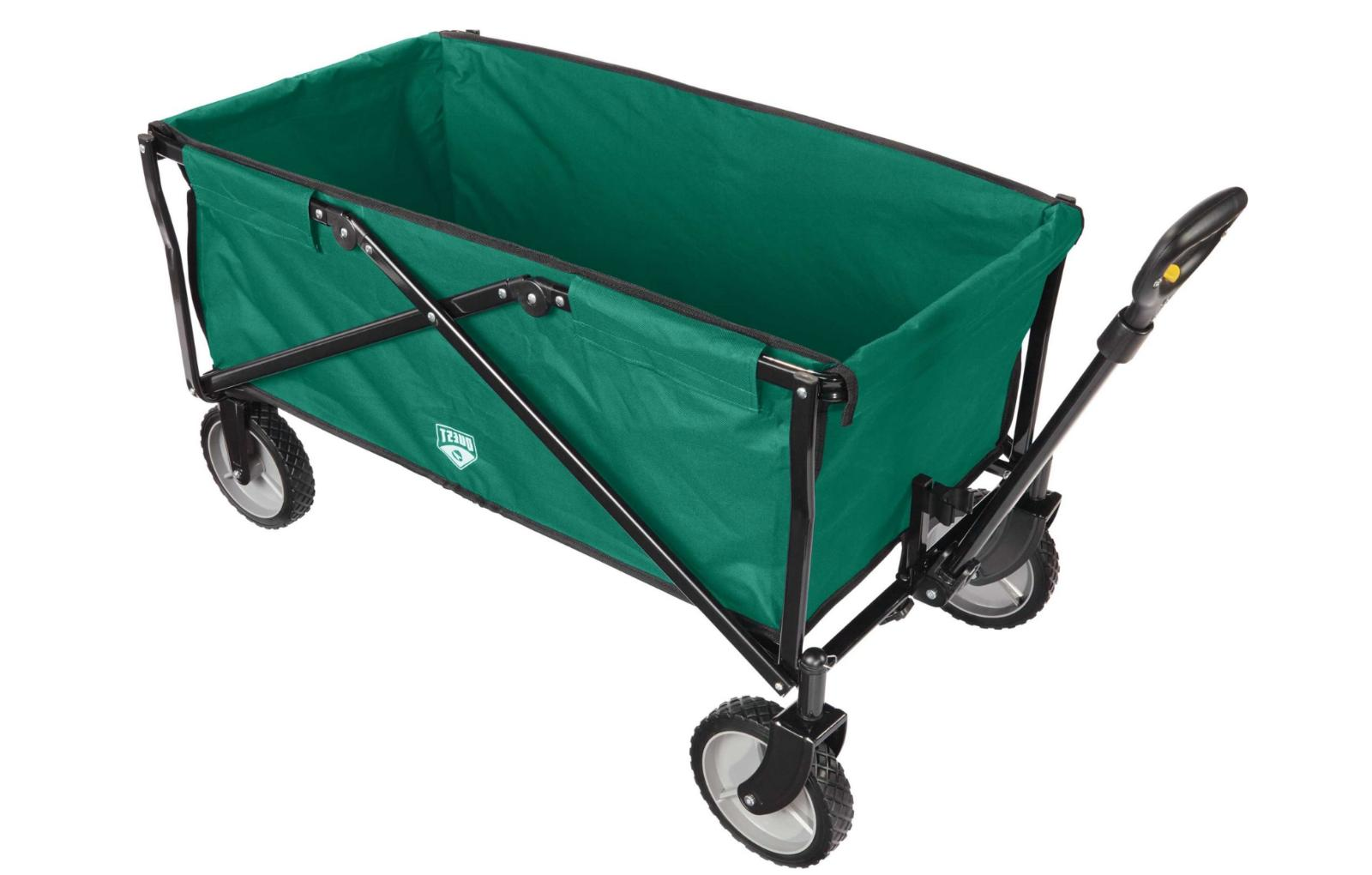 Quest Foldable Lightweight Utility Wagon Outdoor Camping