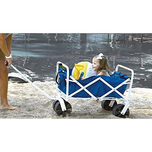 folding beach wagon