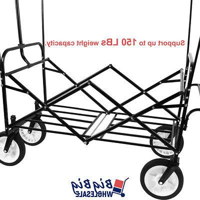 Folding Wagon Garden Cart Buggy Kids