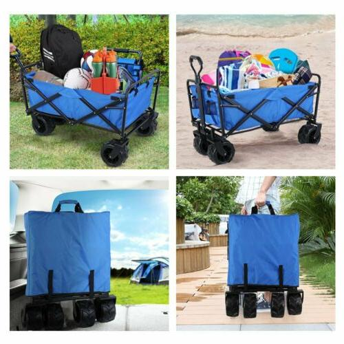 Folding Collapsible Garden Camping Utility Cart- Lbs