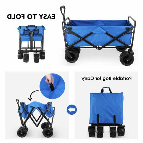 Collapsible Pull Push Heavy Cart