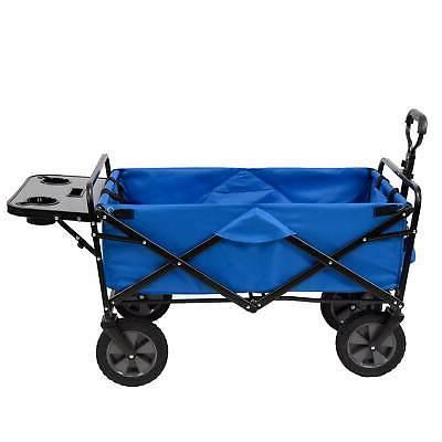 folding garden utility wagon w