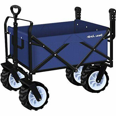 folding push wagon cart collapsible