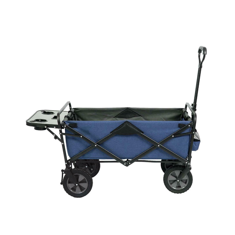 folding red cart wagon