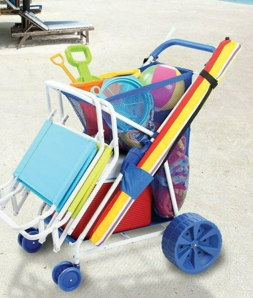Folding Collapsible Wagon Wide