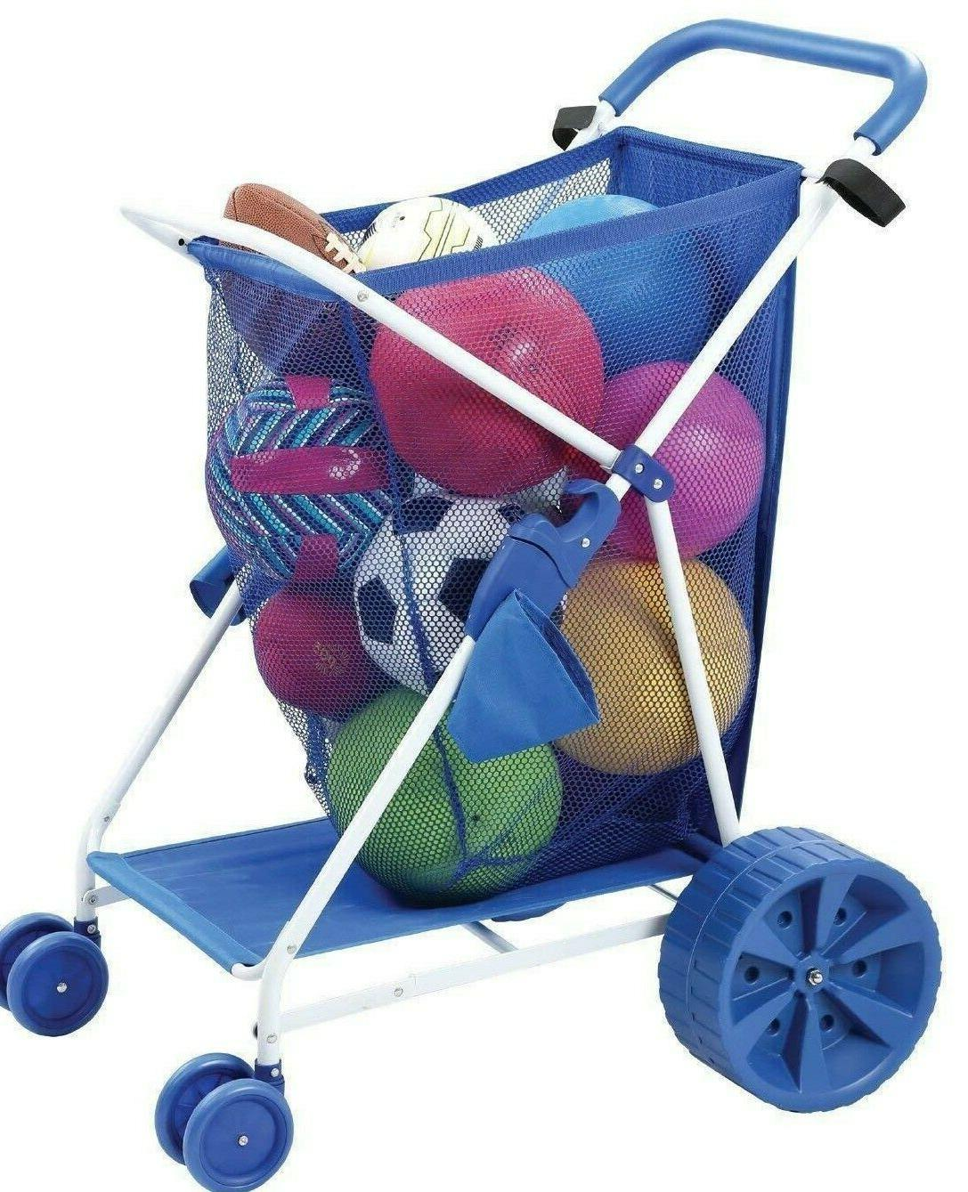 Folding Collapsible Folding Outdoor Wagon Wide Wheels