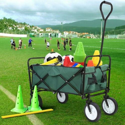 Folding Wagon Trolle Cart Capacity Pounds USA