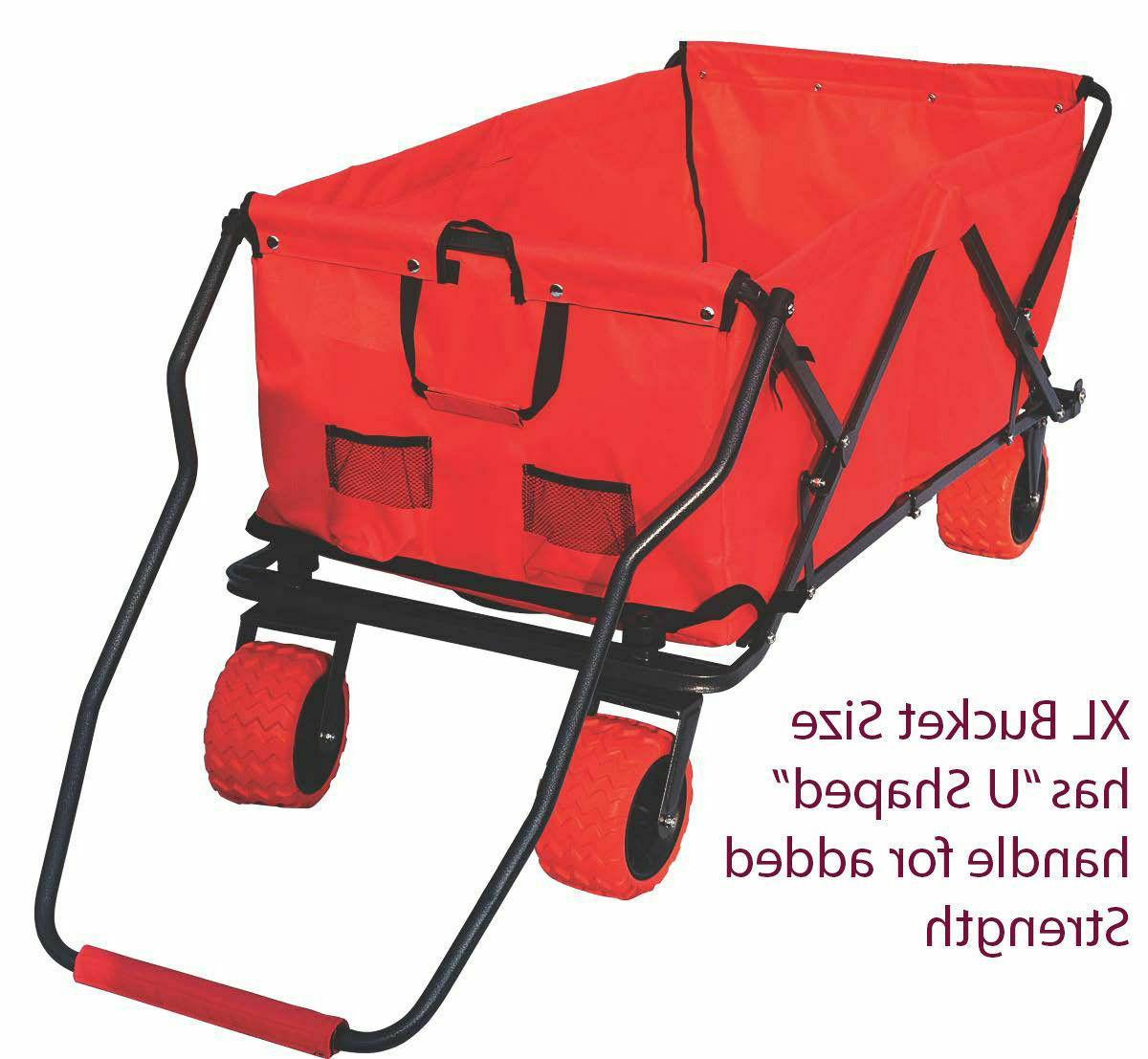 Folding Wagon Utility Cart Outdoor