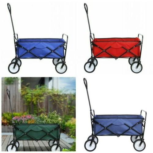 folding wagon beach collapsible camping sports garden