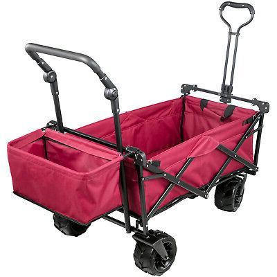 Folding Wagon Cart Folding Utility Outdoor