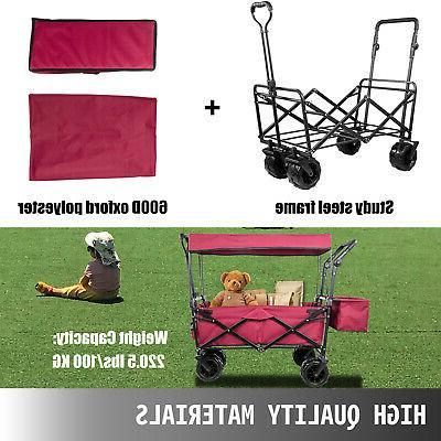 Folding Wagon Cart Utility