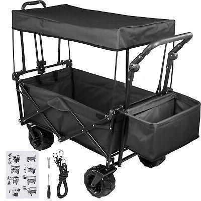 folding wagon cart collapsible folding garden cart