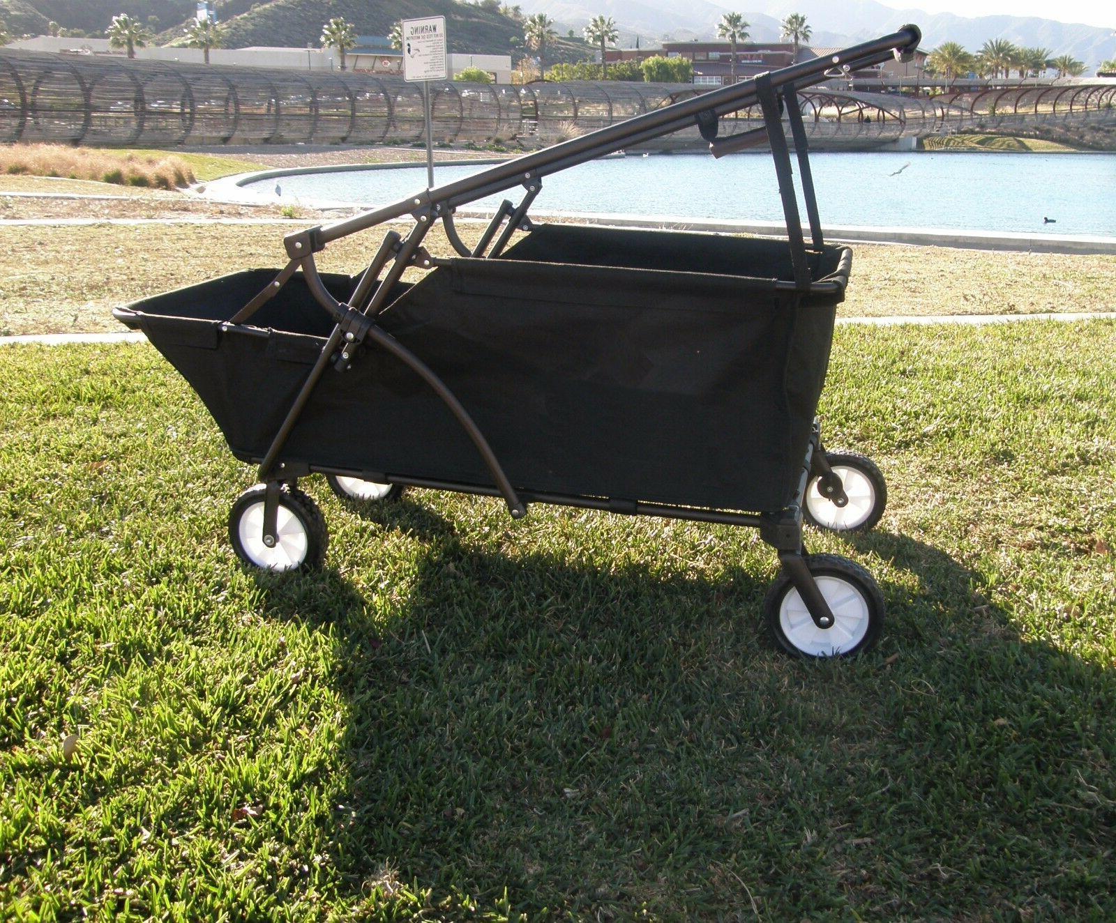 Folding Wagon Beach Utility Garden Buggy