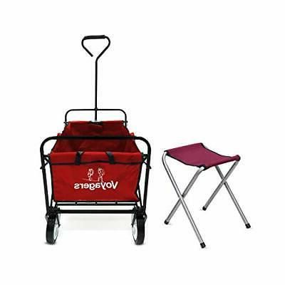 Folding Collapsible Foldable with Wagons and C