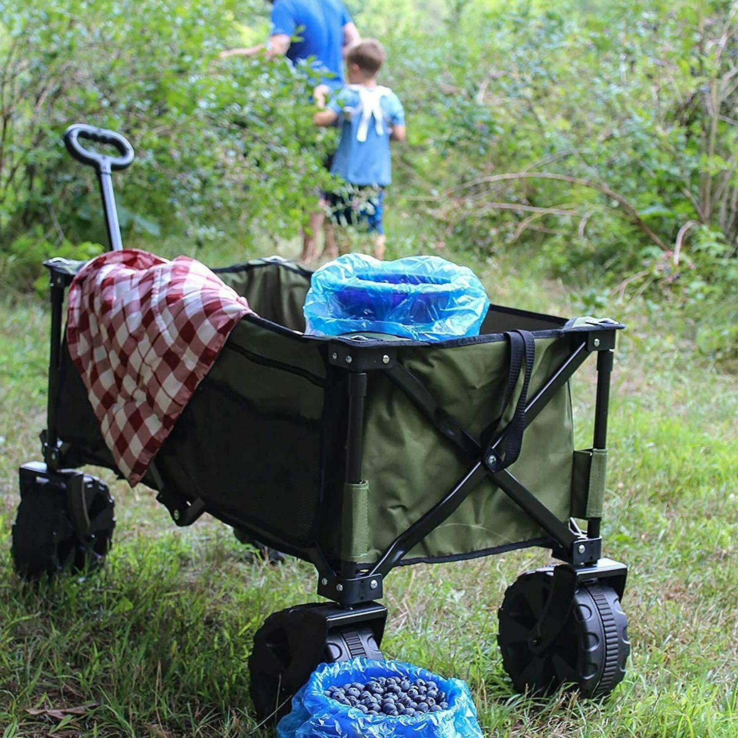 Timber Collapsible Cart for