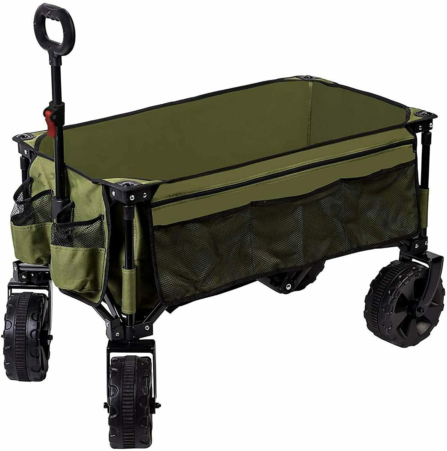 folding wagon collapsible utility outdoor cart