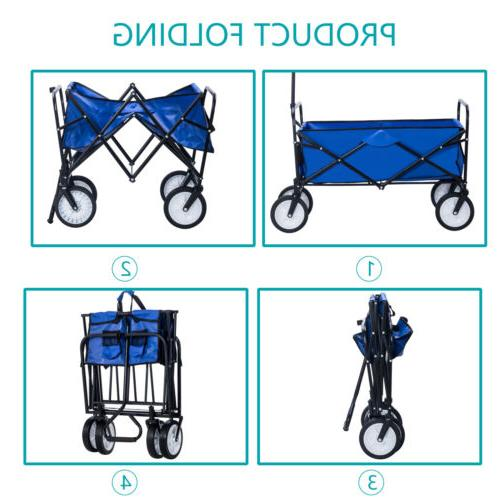 Folding Beach Utility Buggy Kid Trolley