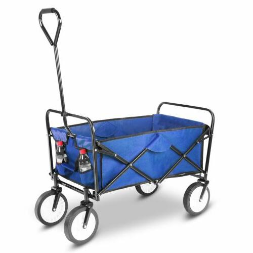 Folding Yard Garden Cart Collapsible USA