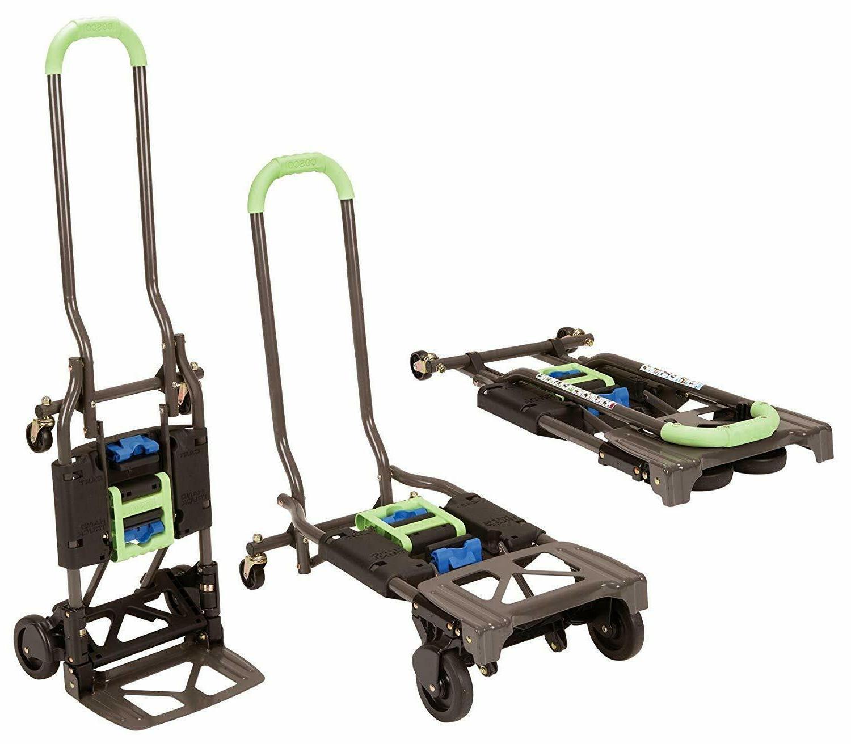 Convertible Hand Truck Dolly Cart Folding Wagon Upright Movi